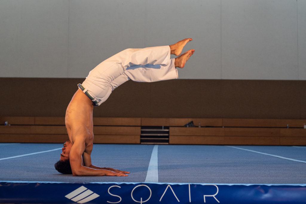 Capoeira auf dem Schwingboden ©SQAIR